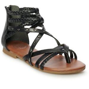 SO Scarlet Women's Gladiator Sandals